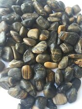 50Lb Decorative Polished Pebbles/River Rocks/Aquarium Gravel(Large,Tiger Stripe)