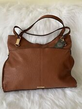 Vince Camuto Solid or Snake Embossed Leather Tote Emely Pinecone