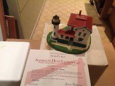 Danbury Mint Collection - Admiralty Head Lighthouse - Whidbey Island Washington
