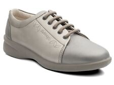 LADIES PADDERS SOFT LEATHER WIDE EEE/EEEE FIT LACE UP SHOES SIZES 3-9 REFRESH2
