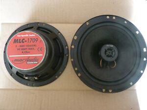 Haut-parleur MAC AUDIO MLC-170 Performance Séries 90 watt 2 voies coaxiales