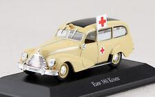 EMW 340 Kombi Krankenwagen Ambulanz Rotes Kreuz 1:43 Atlas Modellauto 03
