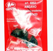 ARGANO ORIZZONTALE MODERNO IN METALLO WINCH 27X20mm MODELLISMO NAVALE AMATI 4862