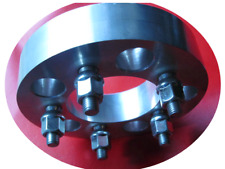 """5x100 to 5x100 USA Made Wheel Adapters Billet 1"""" 57.1 Bore 12x1.5 Stud x4 Spacer"""