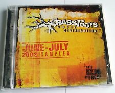 GRASSROOTS MUSIC DISTRIBUTION - JUNE - JULY 2002 SAMPLER CD -  STILL SEALED