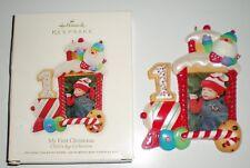New 2012 Hallmark Babys First Christmas Train Ornament -Childs Age Original Box
