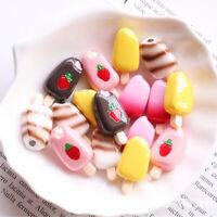5x 1:12 1:6 Dollhouse Miniature Popsicle Ice Cream Dolls Kitchen Food YK