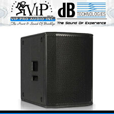 "DB Technologies SUB 615 Active 15"" DJ/Club Subwoofer Class-D 1200W Amplified Sub"