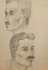 1995 Pencil painting men portrait