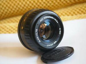 KMZ MC ZENITAR-M2s 50 mm f/2 Lens mount M42