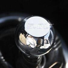 79-04 Ford Mustang Billet Aluminum Shift Knob 5.0 Logo Polished