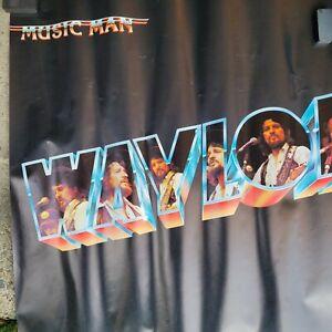2 Vintage Waylon Jennings Posters...nice..music man..greatest