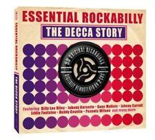 Va-Essential Rockabilly DECCA STORY GENE MALTAIS/ROY HALL 2cd Nouveau neuf dans sa boîte