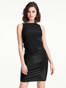 Wolford Wilma Dress Kleid mit Glanzeffekt schwarz