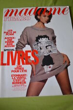 MADAME FIGARO N°14259 30 JUIN 1990 MARIE FRANCE PISIER MARIA PACOME GENEVOIX