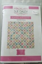 Sue Daley PLAYING WITH PAPER STARTER PACK 12 EPP English Paper Piecing