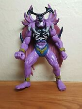 """Posable 1996 Yu-Gi-Oh 6"""" action figure Swordstalker purple wings black antlers"""