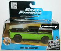 Jada 1/32 Scale 97140 Fast & Furious - Letty's Dodge Challenger SRT8 - Green