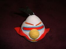 Angry Birds Space Lazer Bird Backpack Clip Plush dated 2012