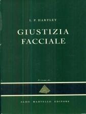 GIUSTIZIA FACCIALE  L P HARTLEY ALDO MARTELLO 1965 PIRAMIDE