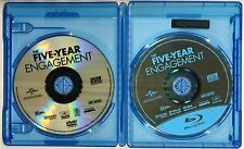 The Five-Year Engagement (Blu-ray/DVD, 2012, 2-Disc set) staring Jason Segel