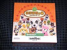 BOX Nintendo amiibo Card Animal Crossing vol2 JAPAN Happy Home Designer New Leaf