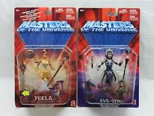 MOTU,200X TEELA & EVIL-LYN,Masters of the Universe,MOC,carded,Sealed,He Man