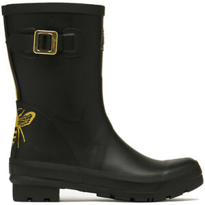 Joules Womens Molly Welly Mid Height Rubber Wellington Boots