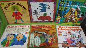 Konvolut Kinder Schallplatten LP Märchenplatten
