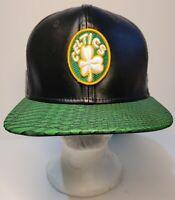 Boston Celtics NBA New Era 9FIFTY NBA Hardwood Classic Strap Back Cap Hat