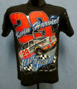 KEVIN HARVICK NASCAR 4 SIDED YOUTH LARGE 14-16 VINTAGE SHIRT CHASE GOODWRENCH