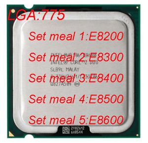 Intel Core 2 Duo e8200 e8300 e8400 e8500 e8600 wholesale LGA 775 CPU processor