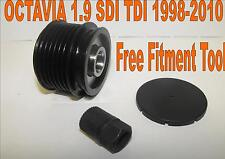 NEW SKODA OCTAVIA 1.9 SDI TDI ALTERNATOR FREE WHEEL CLUTCH PULLEY 1998-2010
