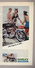 Harley-Davidson Rapido Motorcycle PRINT AD - 1967