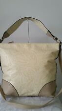 Vershe* Milleni handbag, Shoulder& Cross body, embossed detail, taupe, beige NWT