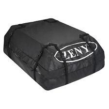 15 Cubic Car Cargo Roof Top Black Carrier Bag Rack Storage Luggage Waterproof