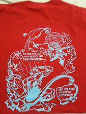 Parachute Regiment  t shirt  size XLarge,special forces rear print  limited