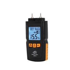 LCD Moisture Meter Humidity Damp Detector Tester Wood Timber Sensor 2%-70%