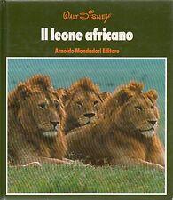 MU52 Il leone africano -Walt Disney 1975 Mondadori
