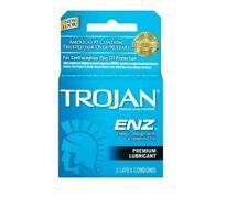 TROJAN™ ENZ™ Lubricated Condoms EXP 2022 - Choose Quantity Newest Stock