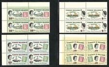 Album Treasures Virgin Is Scott # 169-172 Stamp Centenary Blocks of Four(4) MNH