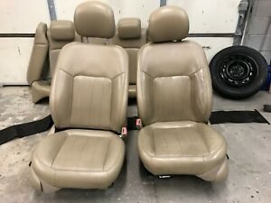 2005 Front Leather Seats - Tan. Heated and Cooled