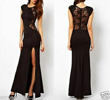1pc women lady lace sexy outfit cocktail party evening beach long dresses size L