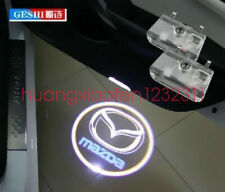 2X LED door step courtesy laser projector light For Mazda 6 2014-2016