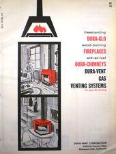 Dover DURA-VENT Corporation Fireplace Catalog ASBESTOS Board Insulation 1964