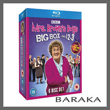 MRS BROWNS BOYS Brown's Big Box Series 1 2 3 + Christmas Special Blu ray Box Set