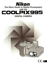 NIKON COOLPIX 995 DIGITAL CAMERA OWNERS INSTRUCTION MANUAL -NIKON COOLPIX 995