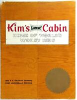 1960's Worst Ribs Menu KIM'S CAUSEWAY CABIN Restaurant Fort Lauderdale Florida