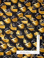 Wine Fabric - Wine Glass Champagne Wines Vineyard Classics #5994 Benartex - Yard