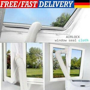 4M Klimaanlage Fenster Abdichtung Air Stop Lock Klimagerät Für Mobile Zubehö DHL